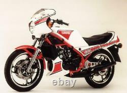 Yamaha Rz350 Kenny Rz350 1983-1985 Front & Rear Stainless Braided Brake Kit Tz