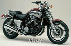 Yamaha V-max 1200vmx 1985-1995 Front & Rear Stainless Braided Brake Kit Patriot